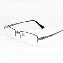 Viodream czystego tytanu wysokiej jakości szklane ramki męskie okulary ramka krótkowzroczność czarny szary mężczyzn handlowe okulary ramki