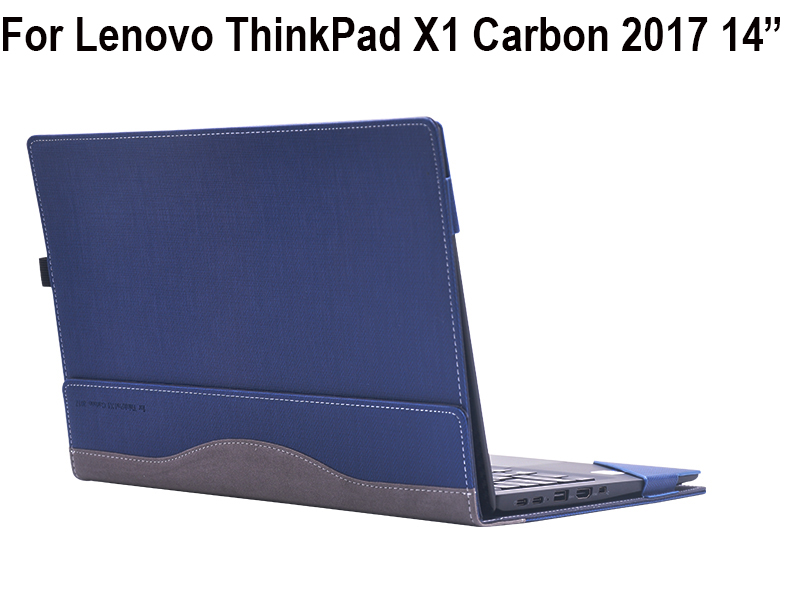 все цены на Creative Design PU Leather Laptop Case Cover For Lenovo ThinkPad X1 Carbon 2017 14 inch Notebook Protective Sleeve Pouch Bag