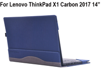 Creative Design PU Leather Laptop Case Cover For Lenovo ThinkPad X1 Carbon 2017 14 inch Notebook Protective Sleeve Pouch Bag