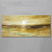 Dusk Acrylic Paint Home Decoration Oil Painting on canvas hight Quality Hand-painted Wall Art 24X48 inch ,36X72
