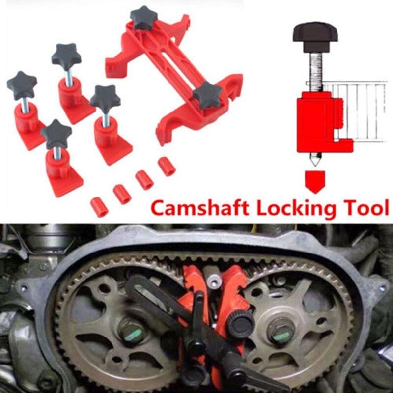 5 Pcs Universal Cam Camshaft Lock Holder Car Engine Cam Timing Locking Tool Set