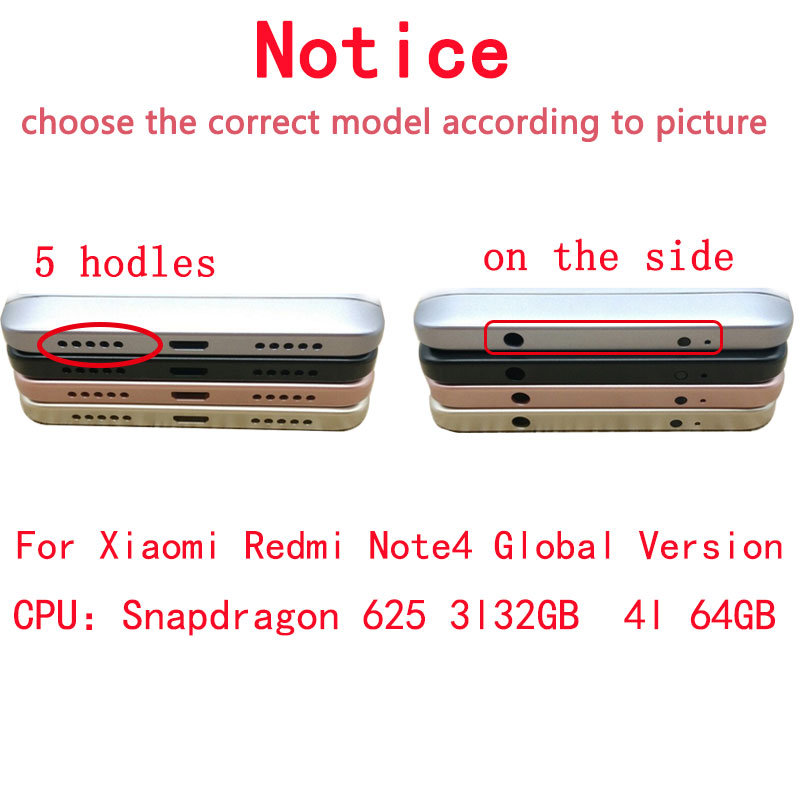 Image 2 - Tested LCD Display +Frame For Xiaomi Redmi Note 4 Global Version Snapdragon 625 Touch Screen LCD Digitizer Redmi Note 4X-in Mobile Phone LCD Screens from Cellphones & Telecommunications