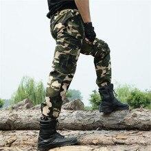 Military Multi Taschen herren Cargo Pants Men Casual Tactical Hose Armee Grünen Camouflage Camo Arbeitskleidung Hosen Military Kleidung