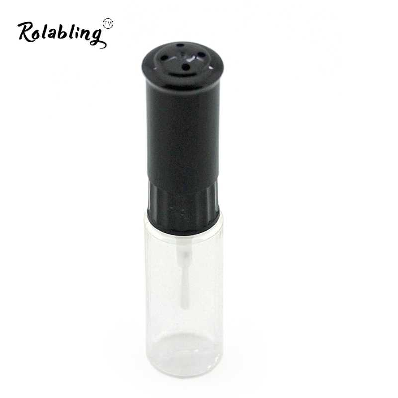 10 adet/grup 7ml Şeffaf plastik oje Boş şişe Kalem Nail art büyük kalite kullanımı için oje tırnak sanat şeffaf şişe
