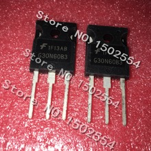 10 개/몫 g30n60b3 hgtg30n60b3 to 247 mos 전계 효과 트랜지스터