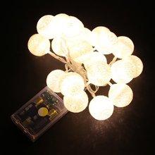 20 светодиодный карты фото фонарики гирлянда Батарея для рождественской вечеринки Свадебные огни