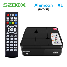 ALEMOON X1 DVB-S2 Smart Digital Terrestrial Receiver casting H.265 Decoder Satellite TV Receiver 2.4G WIFI OTA smart tv box X1