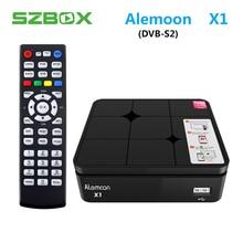 ALEMOON X1 DVB S2 Smart Digital Terrestrial font b Receiver b font casting H 265 Decoder
