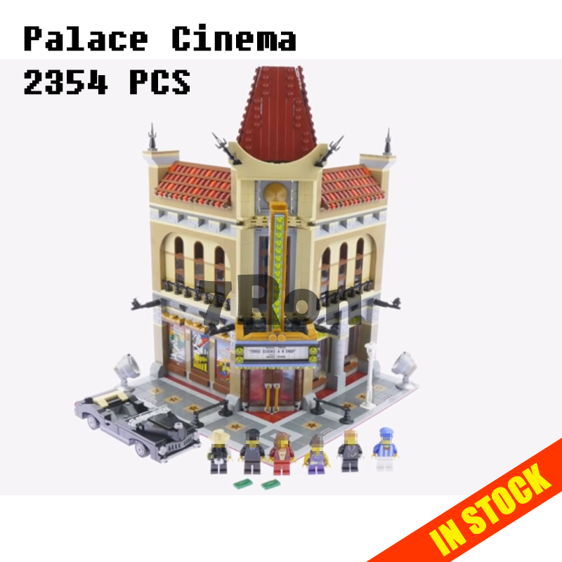 Model building toys hobbies Palace Cinema Doll House 15006 2354pcs Compatible With lego Blocks City 10232 Educational DIY Bricks