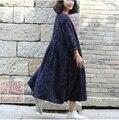 Осенью 2015 новые продукты, Оригинальный дизайн марка качество 100% хлопок белье женщин пальто из широкий большие ярдов