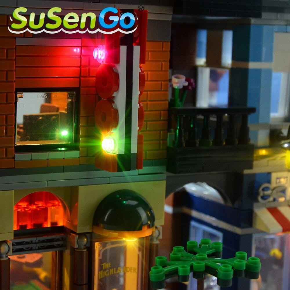 Kit d'éclairage SuSenGo LED pour l'ensemble d'éclairage de bureau - Concepteurs et jouets de construction - Photo 5
