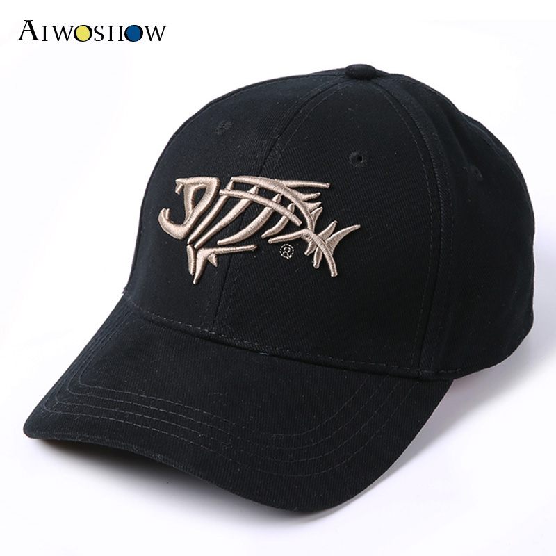 2017 Fishing Cap Baseball Cap For Men Sunshade Sun Fish Bones Embroidered Cap Fishing Hook High Quality Fashion Dad Hat G.loomis 1000g 98% fish collagen powder high purity for functional food