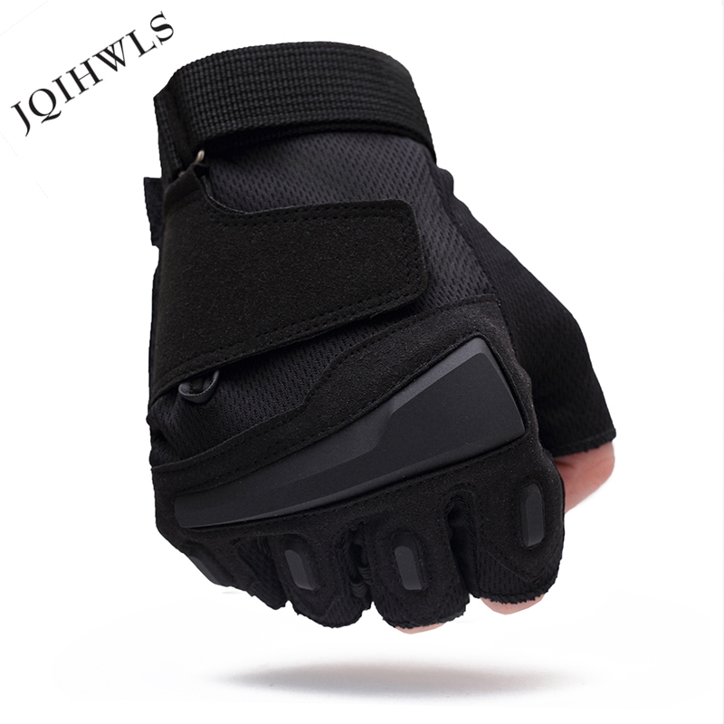 Usa special forces tactical gloves slip outdoor Men fighting fingerless gloves WDKL001 free shipping