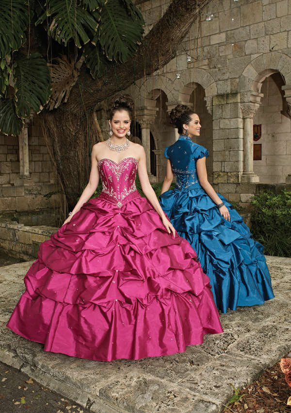 86022 Vintage deux pièces chérie robe de bal jupe gonflée perlée quinceanera robes rouge foncé avec veste