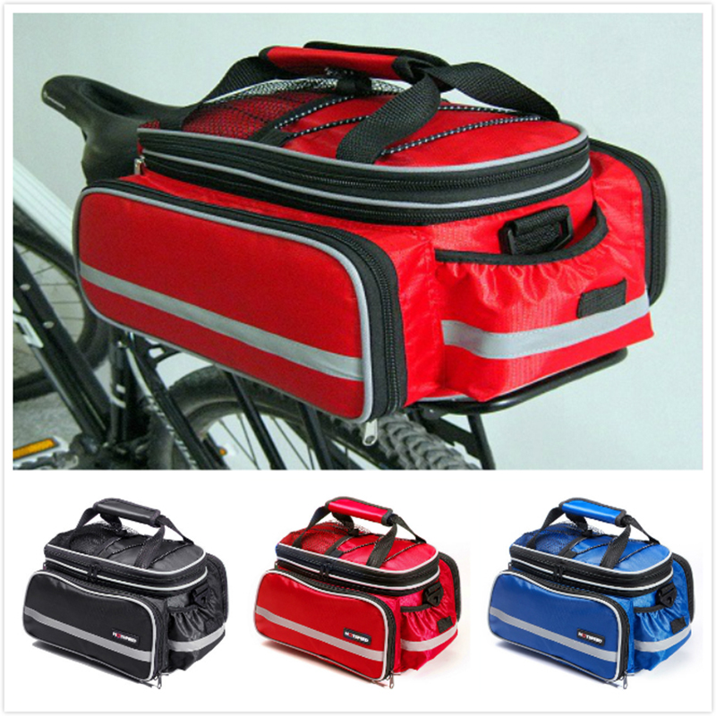 Hurricane 25L Bicycle Carrier Bag Rear Rack Bike Trunk Bag Luggage Pannier Back Seat Double Side Big Capacity Cycling Bag new touch panel for ipad air 1 ipad 5 touch screen digitizer flex cable front glass assembly adhesive with home button t0 3