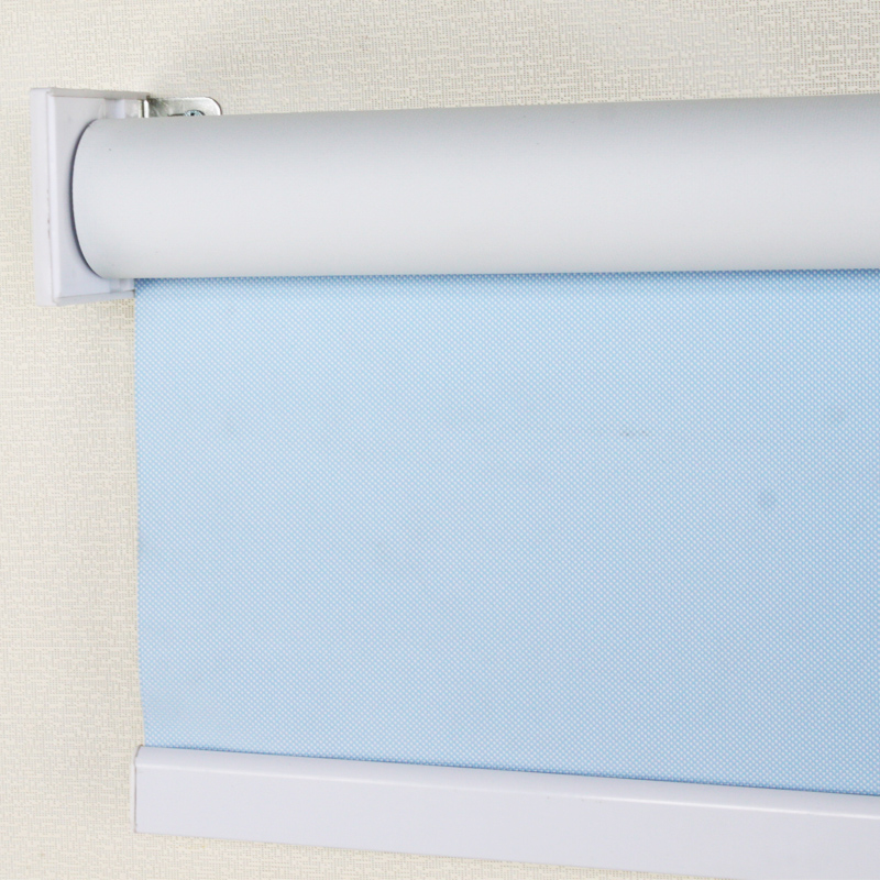 Waterproof full blackout roller blinds fabric curtains for Waterproof blinds for the bathroom