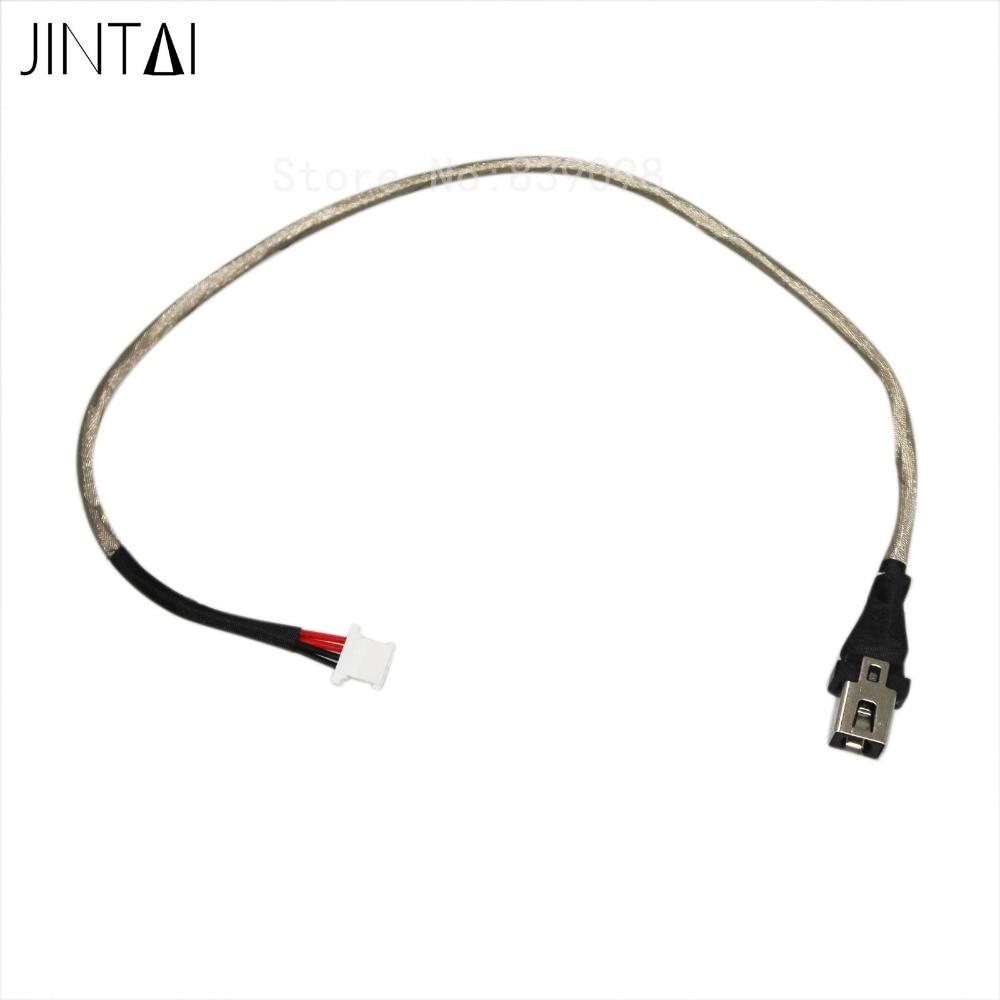 JINTAI DC Power Jack SOCKET w/ CABLE Harness plug in FOR LENOVO YOGA 710-14IKB 80V4 710-15IKB 80V5 710-14ISK 710-14 ac dc power jack socket connector wire harness for dell inspiron 14 15 3458 3558 5455 5458 5459 5558 v3558 v3559