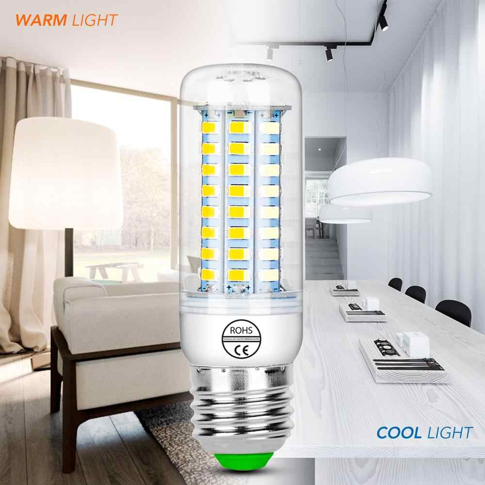 LED E27 Lamps E14 220V Ampoule 5730 Corn Bulb GU10 Light Bulb 3W 24 36 48 56 69 72leds Energy Saving Lights Candle Lampadas Home