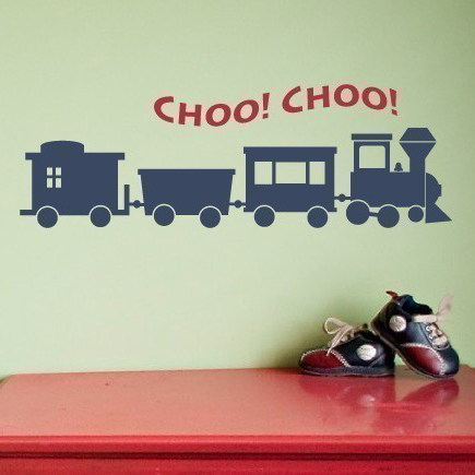 online buy wholesale train decal from china train decal ... - Dekoration Tren
