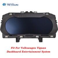 YESSUN инструмент панель Замена приборной панели развлечения Intelligent системы для Volkswagen Tiguan 2016 2017 2018 2019