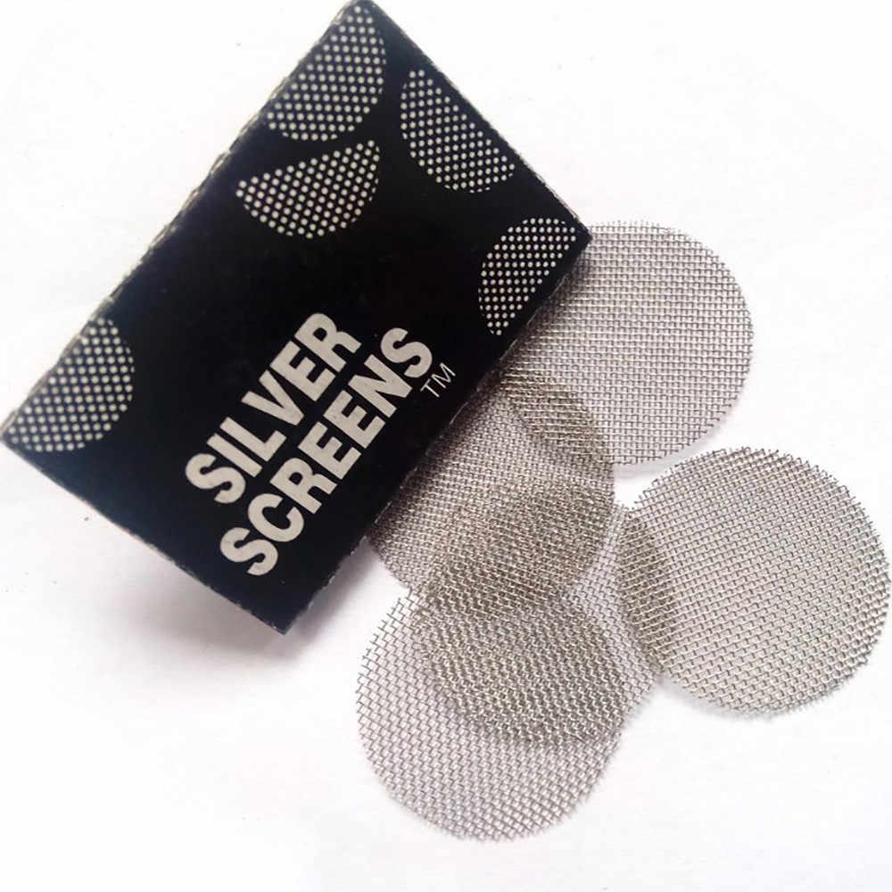 100 stks Multifunctionele Waterpijp Waterpijp Metalen Filters Rook Pijpen Scherm Gaas Pijp Accessoires shisha waterpijp