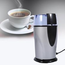 Elektrikli kahve değirmeni paslanmaz çelik bıçaklar ile 220 v-240 V ab tak için kahve otlar/baharat/ fındık/taneleri taşlama top...