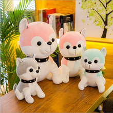 New Style Lovely Husky Dog Plush Toy Stuffed Animal Soft Doll Children Birthday Gift