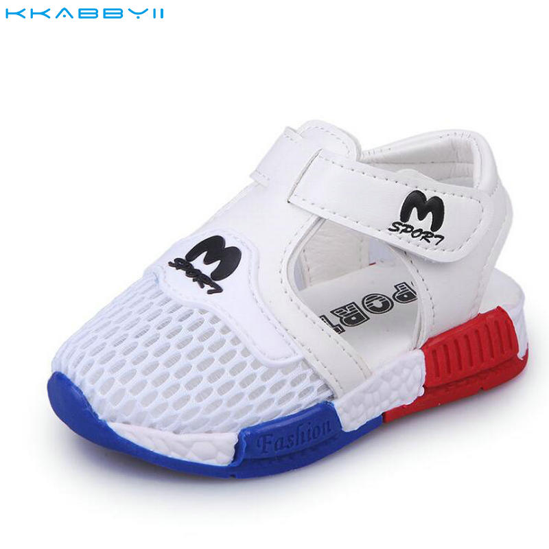 KKABBYII Spring Summer New Korean Fashion Shoes For Boys Girls sandals Hollow Mesh Breathable Beach Baby SandalsKKABBYII Spring Summer New Korean Fashion Shoes For Boys Girls sandals Hollow Mesh Breathable Beach Baby Sandals