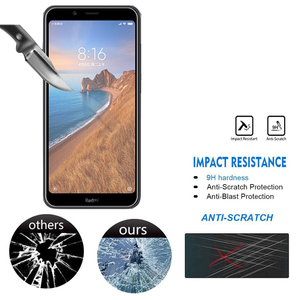 Image 2 - 9D Tempered Glass For Xiaomi Redmi 7 7A Glass Screen Protector Protection Remi Film For Xiaomi xaomi Hongmi ksiomi 7 A A7 Redmi7