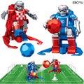 2 шт. * EBOYU JT8811/JT8911 2,4 ГГц RC футбольный робот игрушка беспроводной пульт дистанционного управления два футбольных робота игровые игрушки для д...