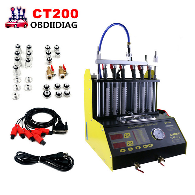 ct200 voiture essence moto injecteur nettoyeur ultrasons testeur d 39 injection machine 220 110. Black Bedroom Furniture Sets. Home Design Ideas