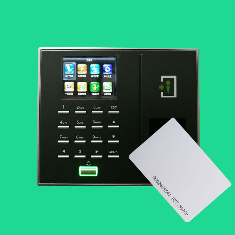 ZK F2 Fingerprint Access Control Terminal TCP/IP Door Access Controller With 125Khz RFID Card Reader optional spanish arabic biometric fingerprint door access control tcp ip wiegand f19 fingerprint door security controller