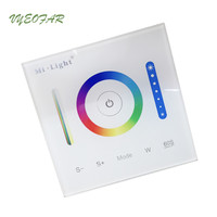 New Mi Light Smart Panel Led Controller RGB RGBW RGB CCT LED Touch Switch Panel Led
