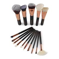 15pcs Premium Makeup Brush Set High Quality Soft Taklon Hair Professional Makeup Artist Brush Tool Kit