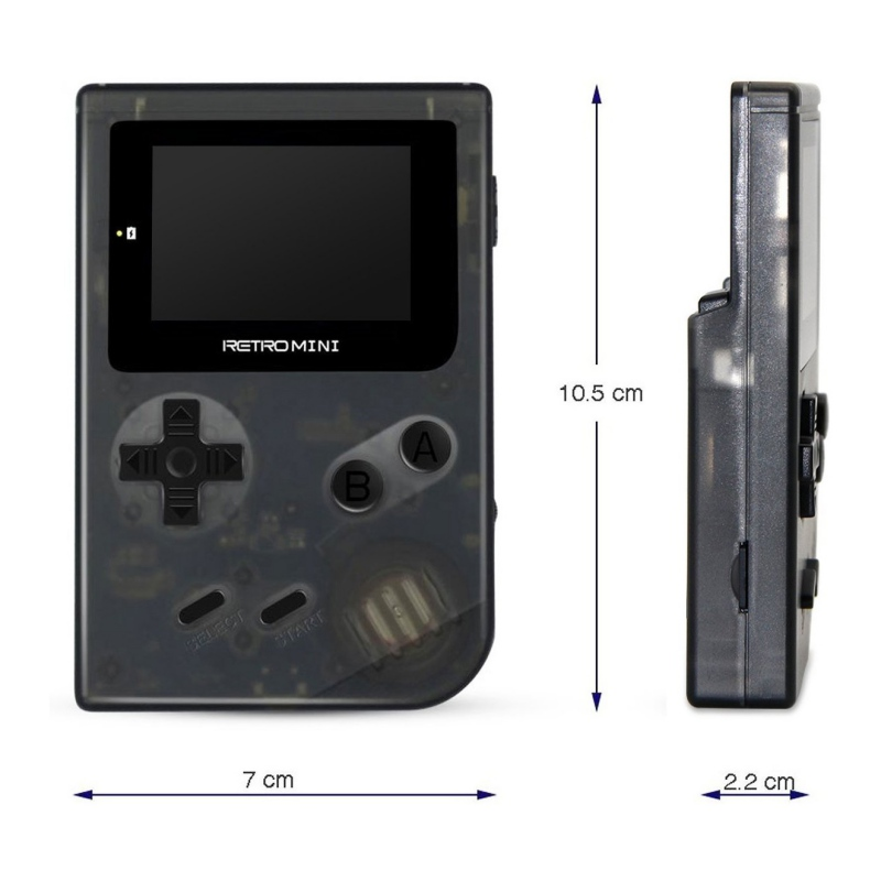 купить 32 Bit Mini Handheld Game Players Retro Game Console Portable Game Player Built-in 940 For GBA Classic Games Best Gift For Kids по цене 1825.73 рублей