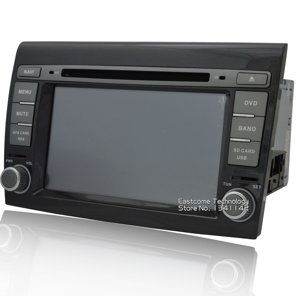 Best 1024*600 8 Cores Octa Core Pure Android 6.01 Car DVD Player For Fiat Bravo 2007 2008 2009 2010 2011 2012 With Rear View Camera 2
