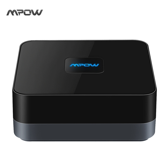 Mpow Wireless Bluetooth 4.1 Audio Receiver Adapter 3.5 mm RCA Cable with High-fidelity Stereo Sound and Built-in Battery