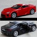 1:32 Коллекция Игрушки: Двойные Лошади Стайлинга Автомобилей LEXUS LFA Модель Сплава Модель Суперкара Форсаж