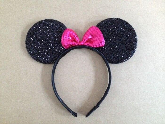 New kids Mickey headband Cute Elsa Mouse Ear Hair Band Small minnie Mouse Headbands for Women Hello Kitty Hair Accessories