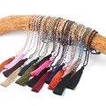 Necklace Statement Collier Maxi Boho Jewelry Bohemian Beaded New Women Necklaces Crystal Beads Handmade Tassel Pendants Trendy