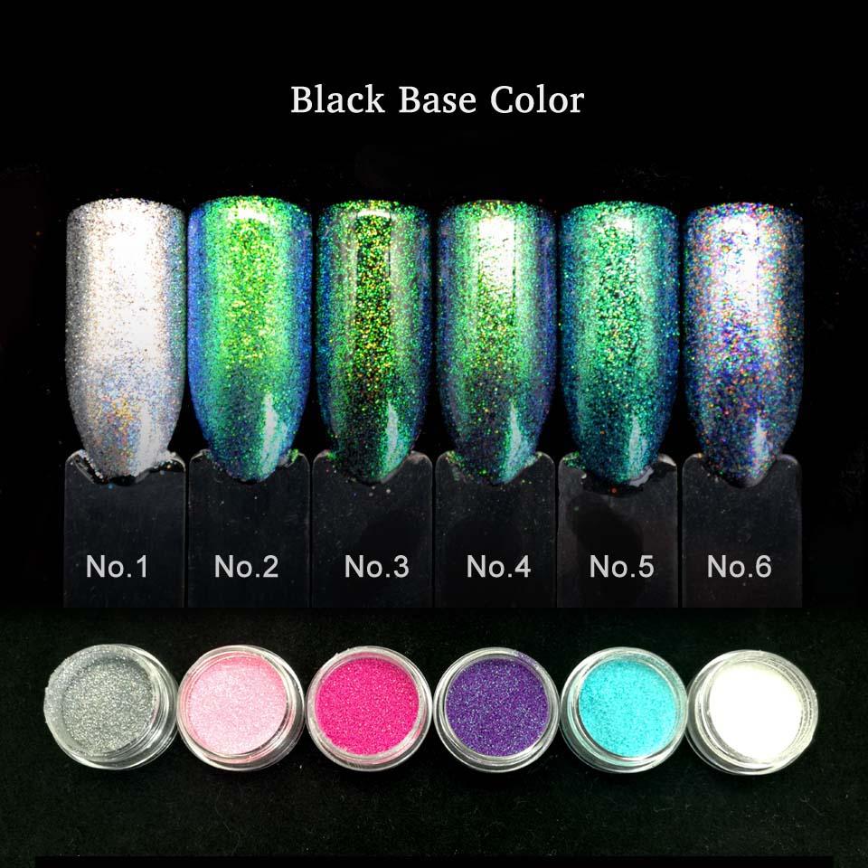 Vistoso Polvo De Uñas De Color Púrpura Cromo Componente - Ideas de ...