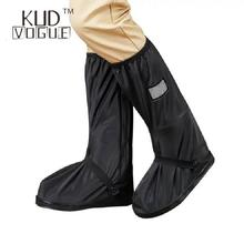 Retail and Wholesale Waterproof Shoe Covers Reusable Motorcycle Cycling Bike Boot Rain Shoes With Relectors74