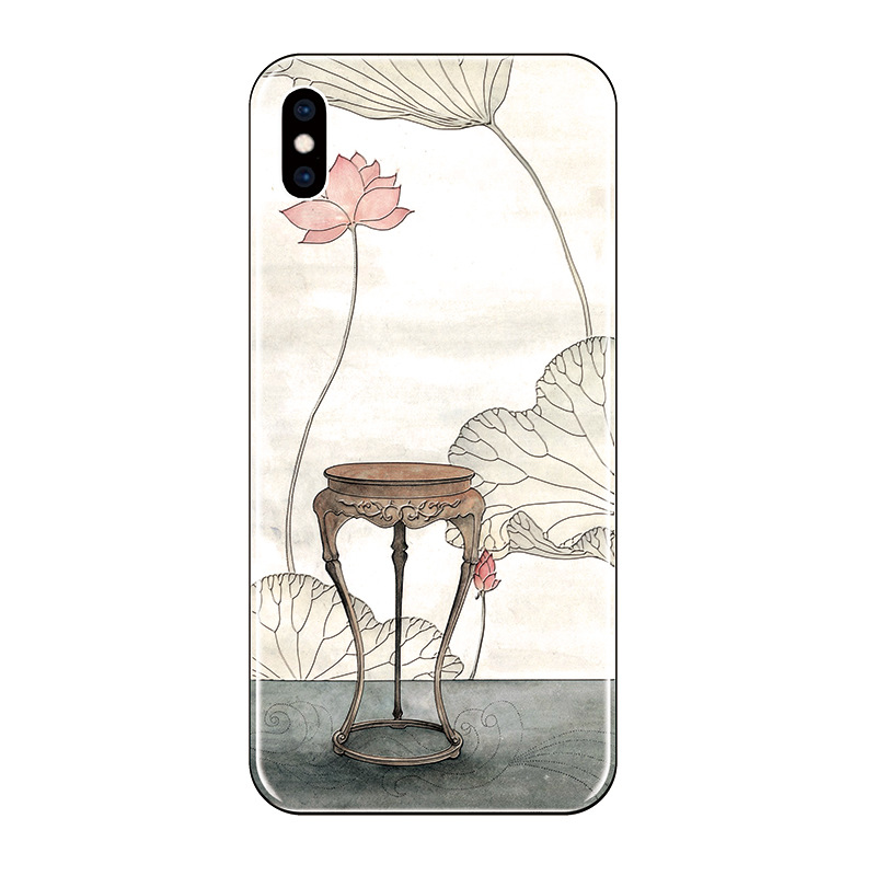 Phone Case For Xiaomi Redmi Note 5 5A 4X 6 Soft Silicone For Xiaomi 8 5X 6X Mi Mix 2 2S 3D Flower Painted Tassel Phone Cover in Fitted Cases from Cellphones Telecommunications