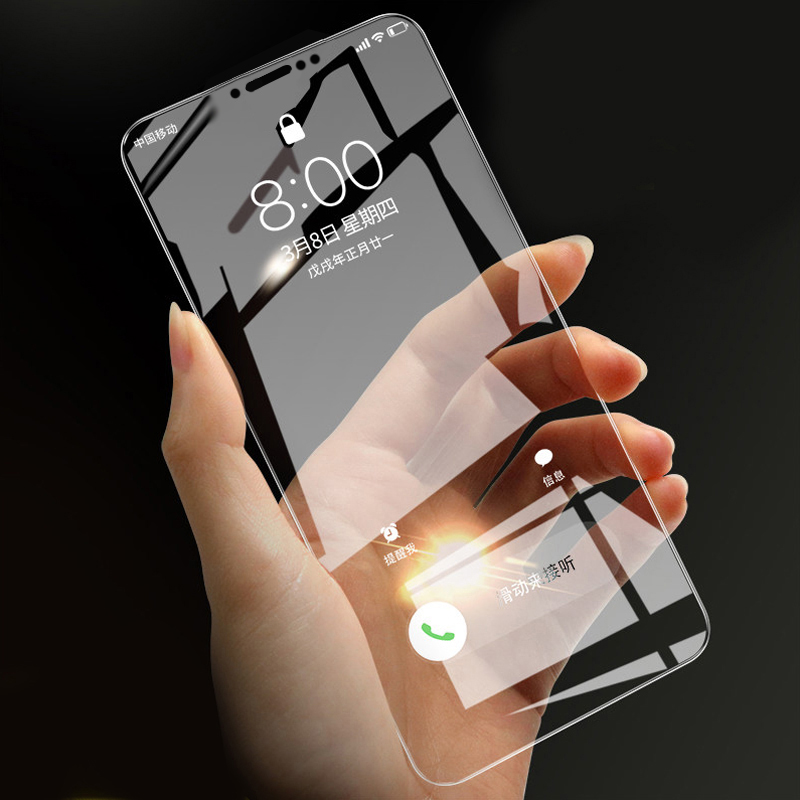 RAUGEE Tempered Glass For Xiaomi Redmi Note 5 Tempered Glass Clear Screen Protector Film For Redmi Note 5 Pro Front Cover Guard