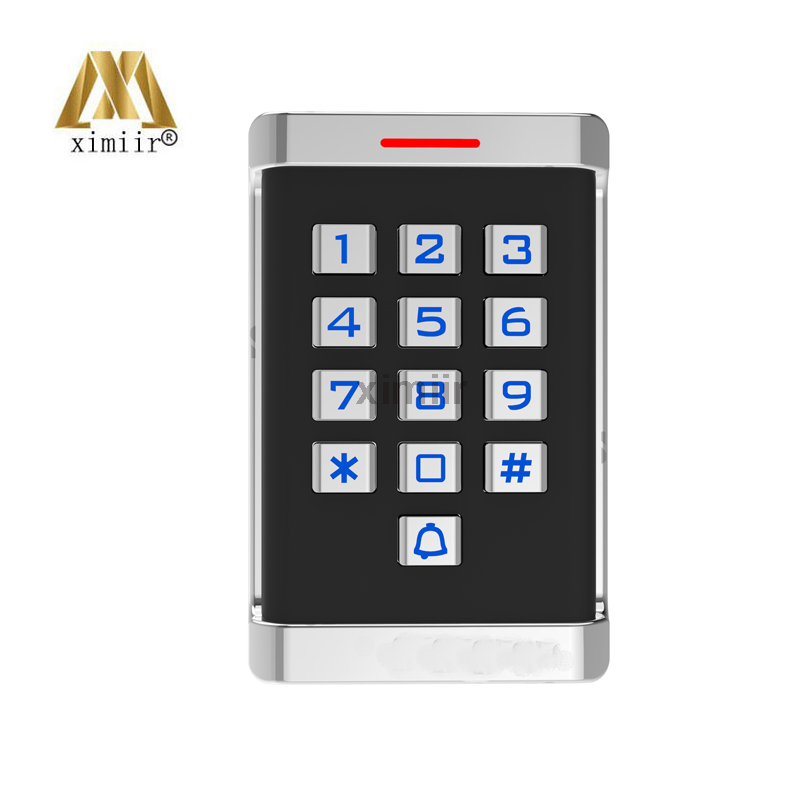 M18 MF card reader for access control system wiegand26 136MHZ card reader IP65 waterproof weigand card access reader