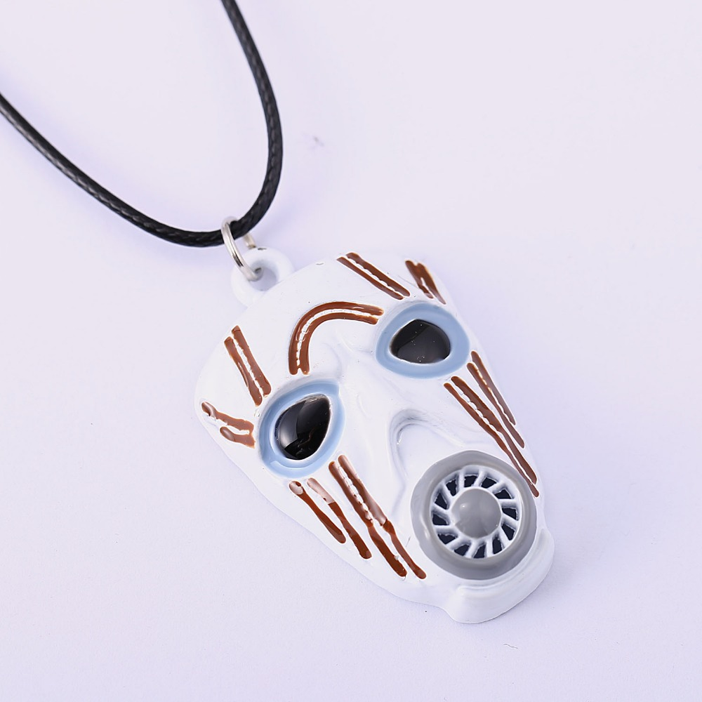 Borderlands 2 Necklace Mordecai Mask Pendant Necklace Friendship Men Women Game Jewelry Choker Accessories YS11342 image