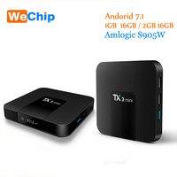 Wechip TX3 Mini Android 7.1 Smart Tv Box 1GB/2GB 16GB Amlogic S905W Quad Core Support H.265 4K Media Player PK H96 PRO Tv Box