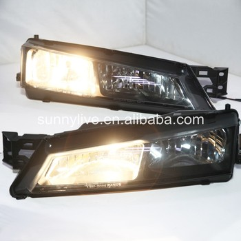 For NISSAN S14 LED Head Lights 1996-1998 Year  Drift racing special use Black Housing SN
