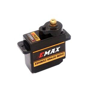 1pcs EMAX ES08MA II Mini Metal Gear Analog Servo 12g/ 2.0kg/ 0.12 Sec Mg90S For RC Car Truck Crawler Servo(China)