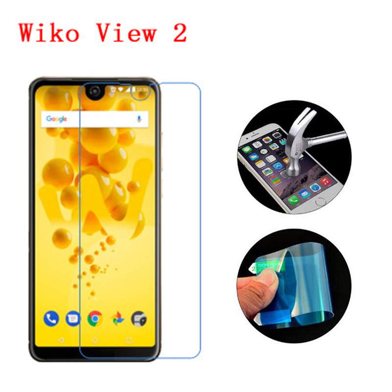 3PCS For Wiko View 2 Screen Protector Premium Tempered Glass Soft Nano Explosion proof Clear Film Guard for Wiko View 2